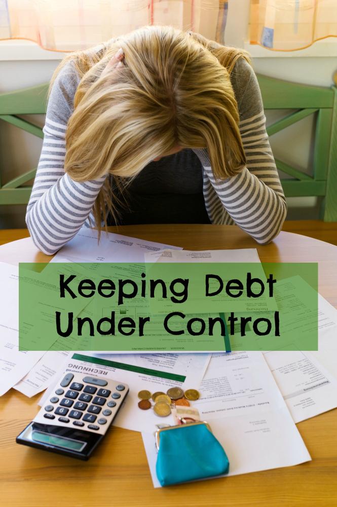 Keeping debt under control