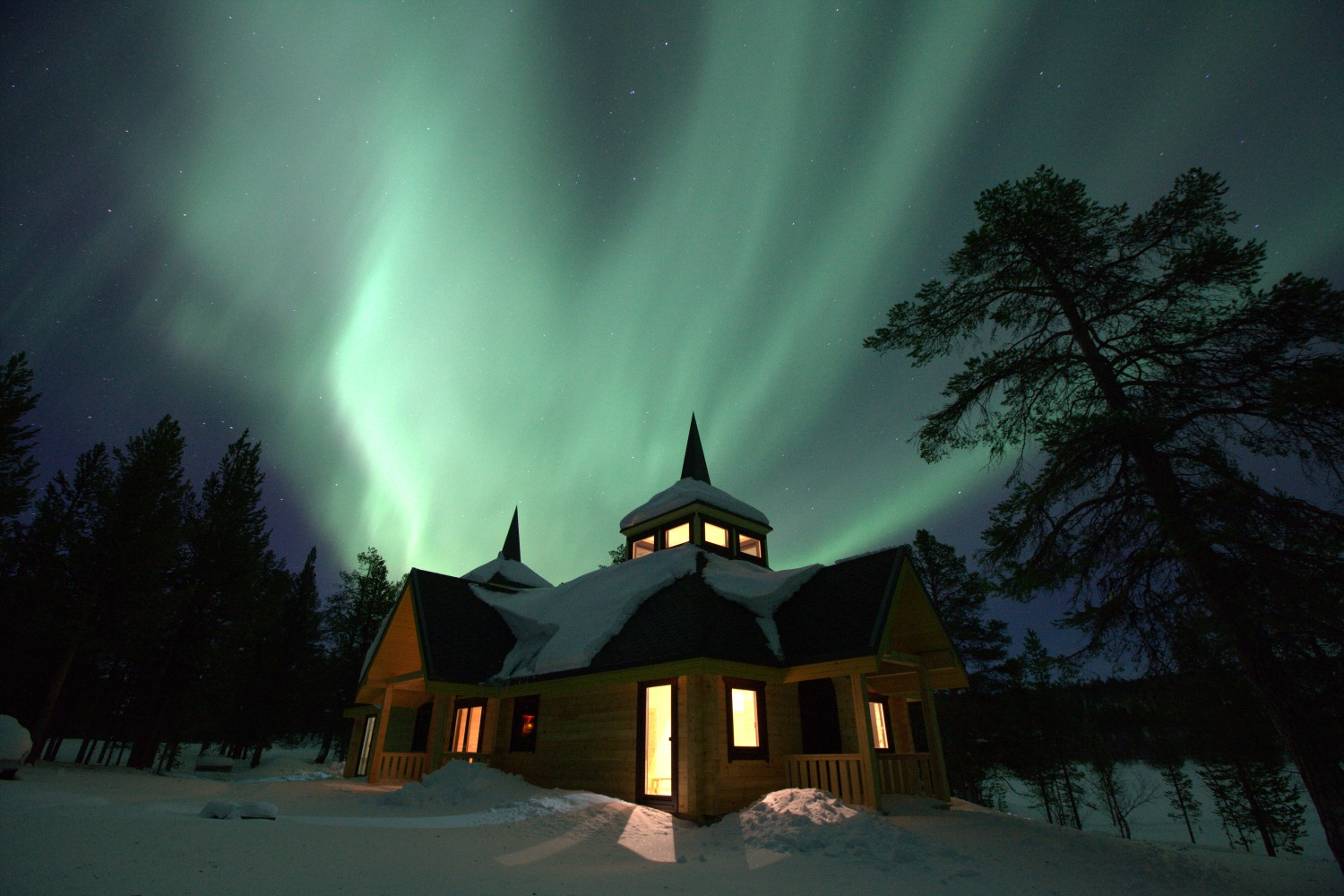 A trip to see the Aurora Borealis the Northern Lights