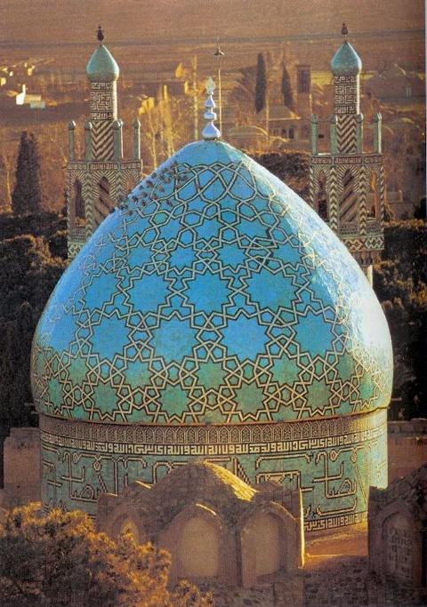 Blue mosque in Antalya Turkey