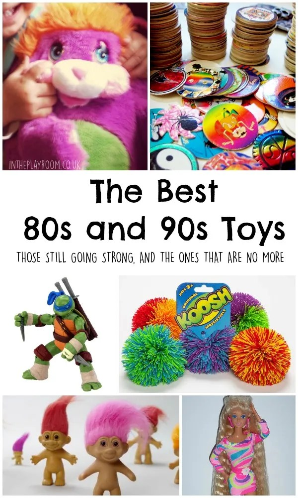 the best 80s and 90s toys. The ones that are still going strong, and the ones that are no longer around. Great 90s nostalgia