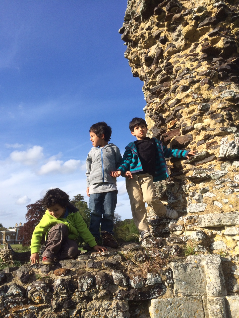 waverley abbey ruins and trespass boys fleeces