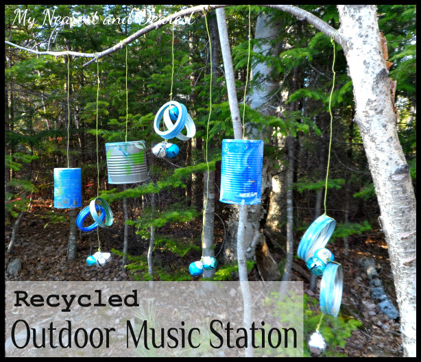 make an outdoor music station
