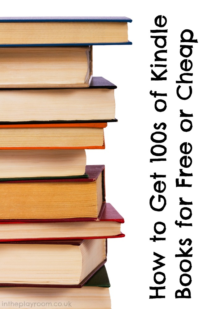 How to get 100s of Kindle books for free or cheap