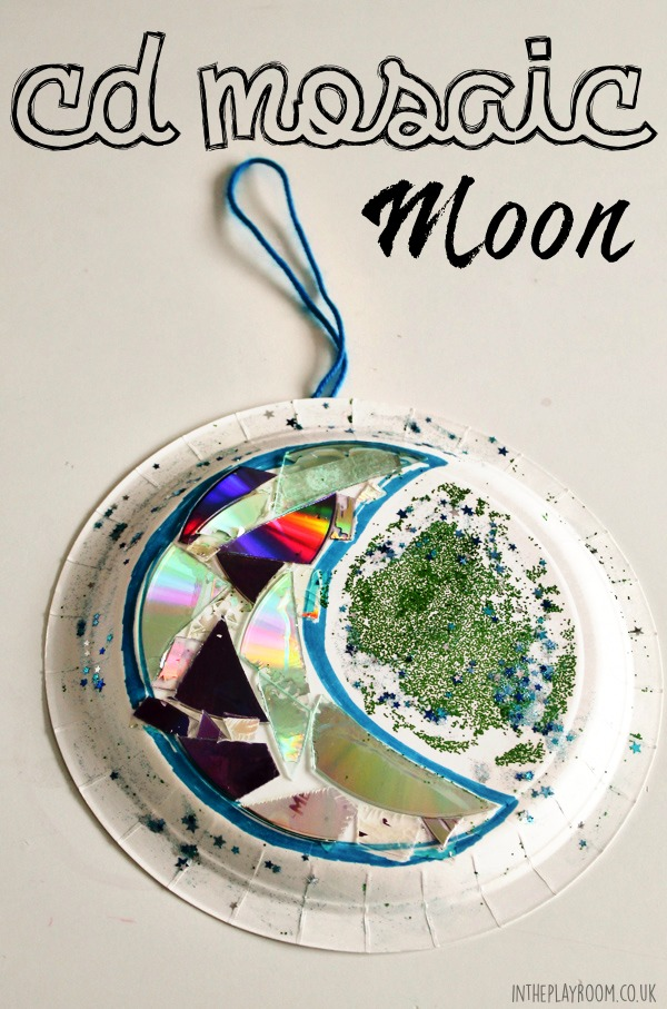 how to make a paper moon