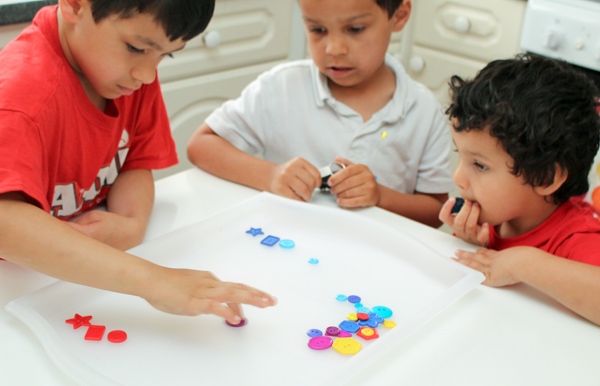 hands on math activities with buttons