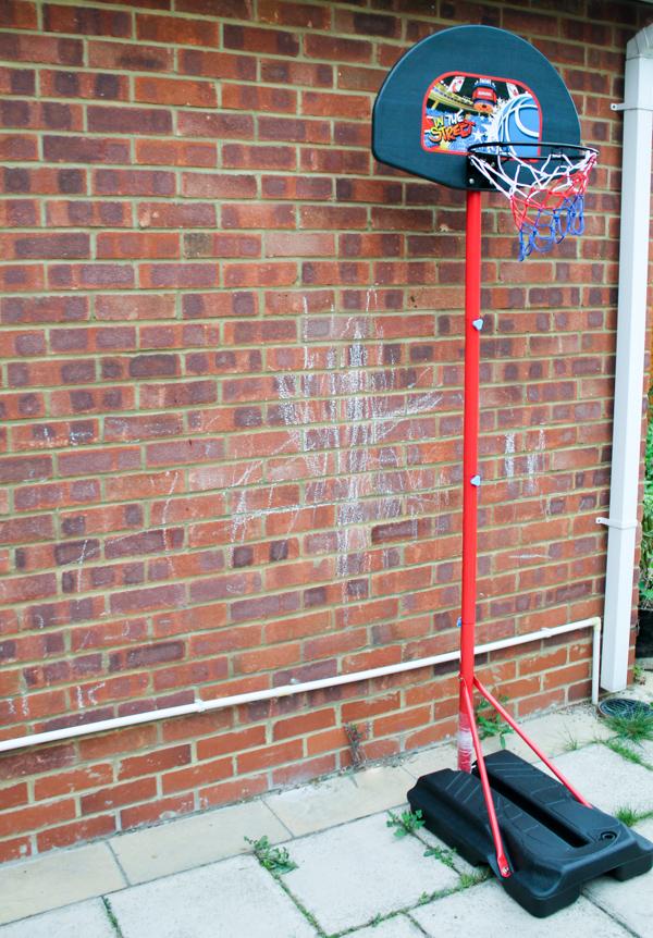 haro basketball set