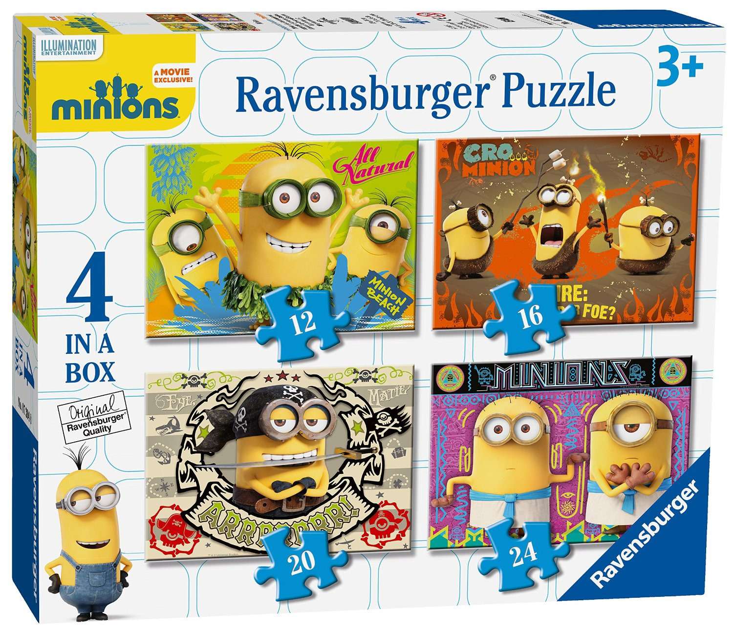 minions 4 in a box puzzles ravensburger