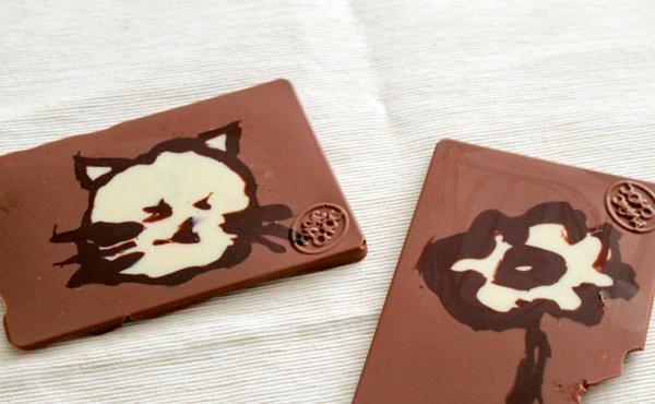 personalised design chocolate