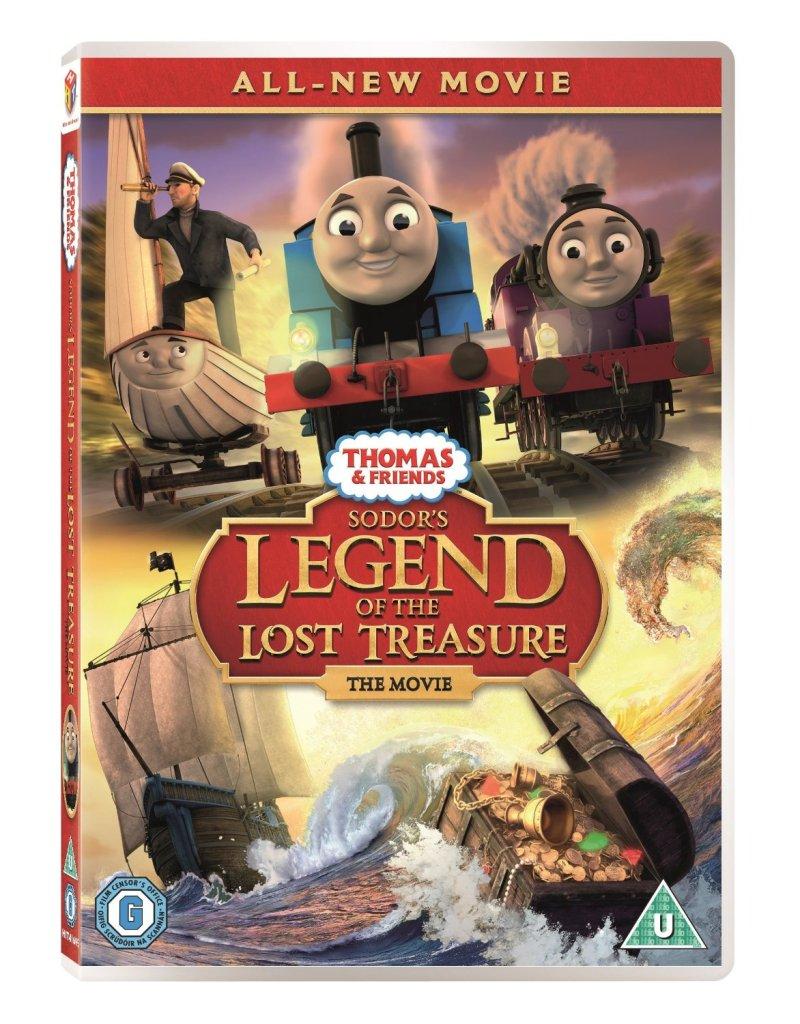 Thomas & Friends Sodo's legend of the lost treasure