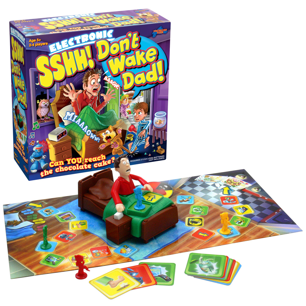 SSHH! Don't wake Dad! game from Drumond Park