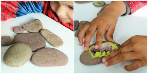 easiest way to make story stones
