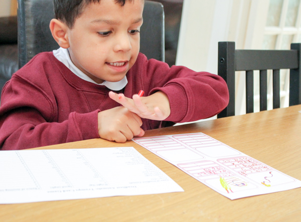 learning at home with brain boost boxes