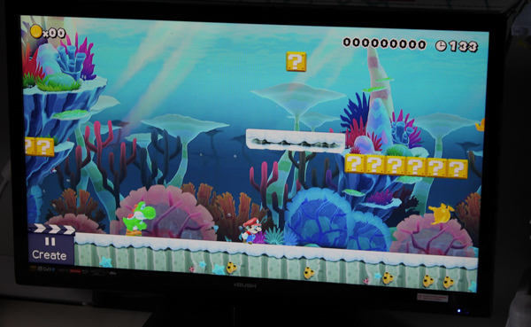 Super Mario Maker on Wii U newest style
