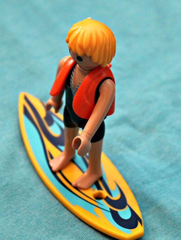 playmobile surfer