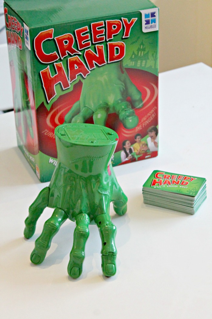 Megableu creepy hand game