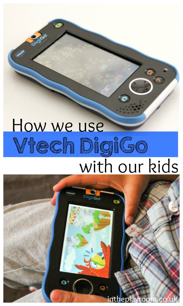 How we use the Vtech DigiGo with our kids. It has wifi messaging to mum and dad and other approved adults, and other cool features