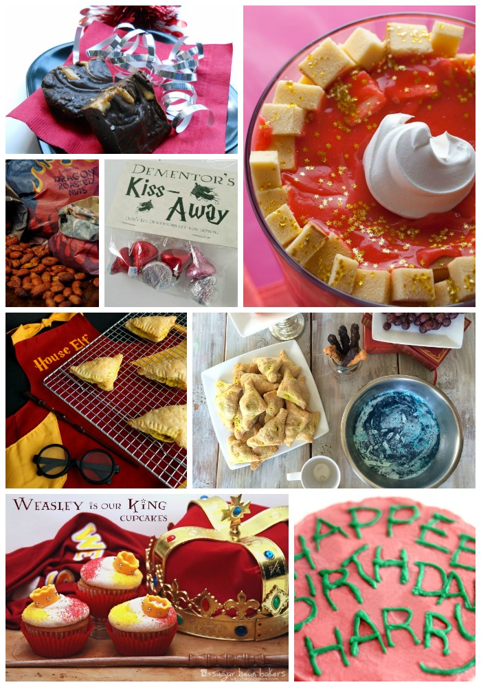 Harry Potter Character Inspired Food Ideas and recipes for a Harry Potter party