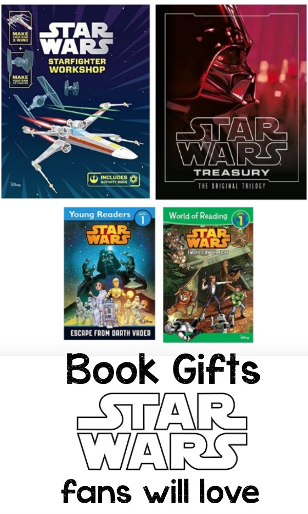Book gifts that star wars fans will love.