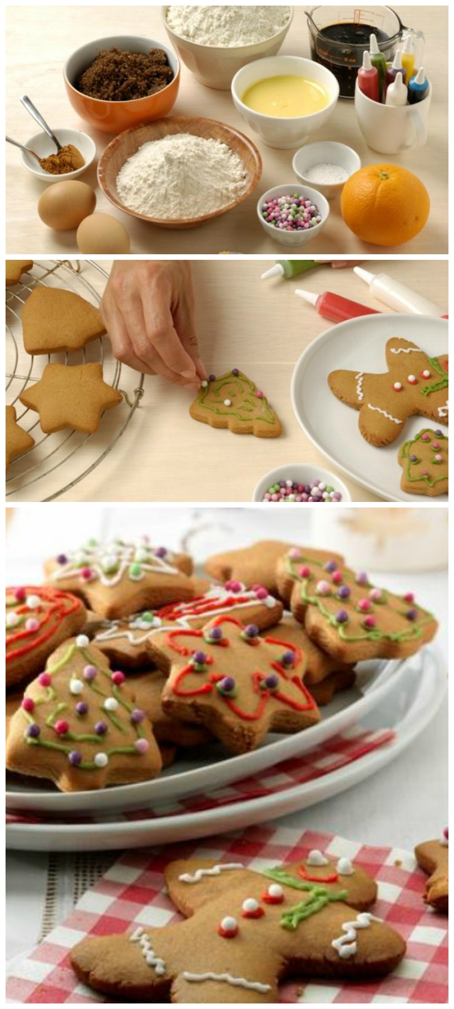 christmas ginger biscuits cookies recipe