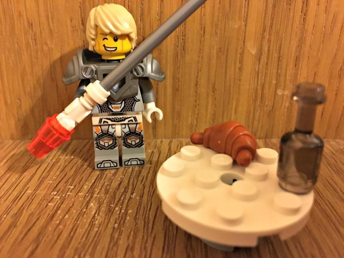 LEGO® NEXO KNIGHTS™ Magazine free gift exclusive Lance mini figure