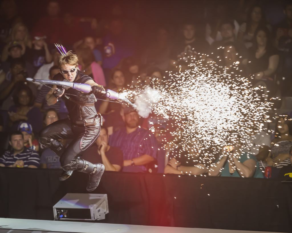 fire in marvel universe live
