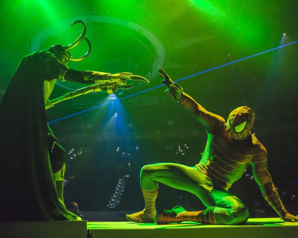spiderman and loki marvel universe live