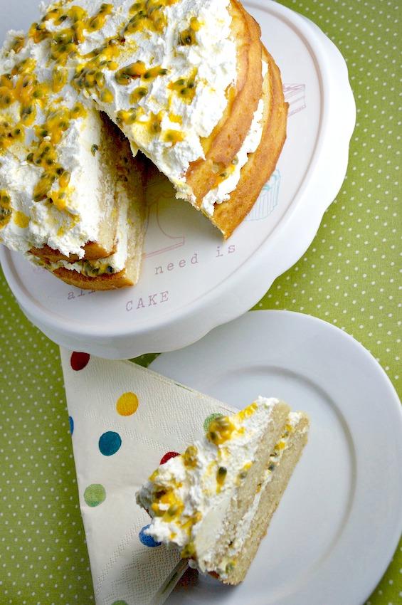 no junk healthy passionfruit cake recipe