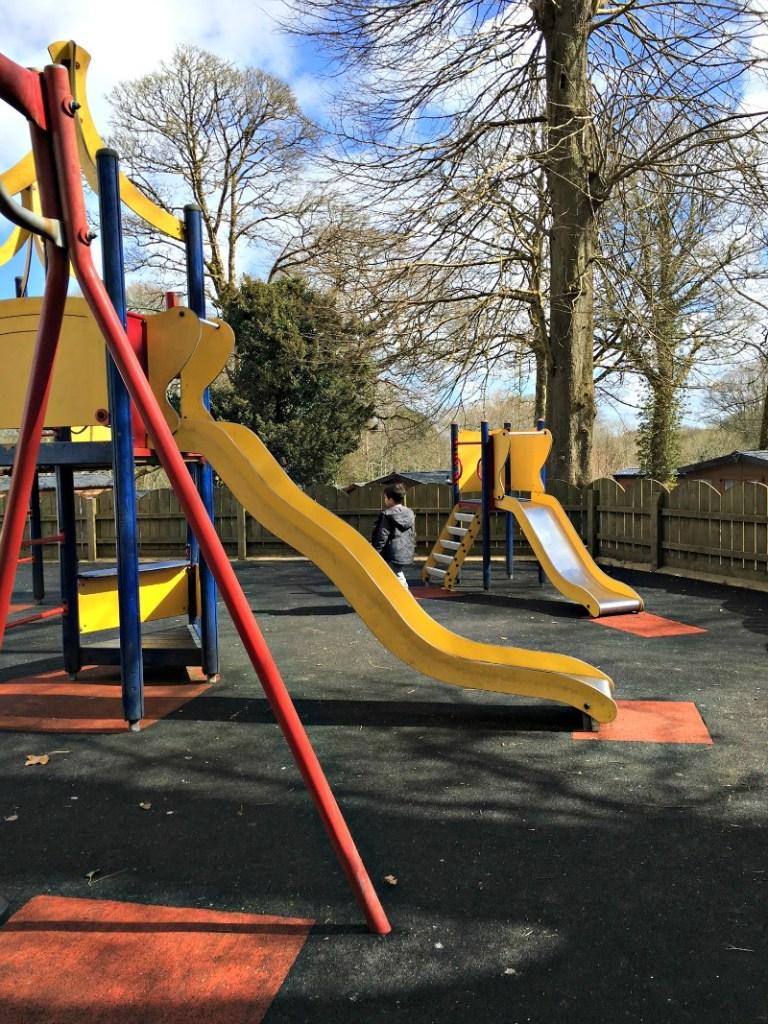 playground at john fowler st ives holiday village cornwall