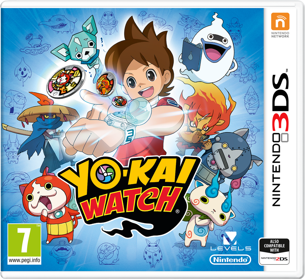 Yo-Kai watch on nintendo 3ds