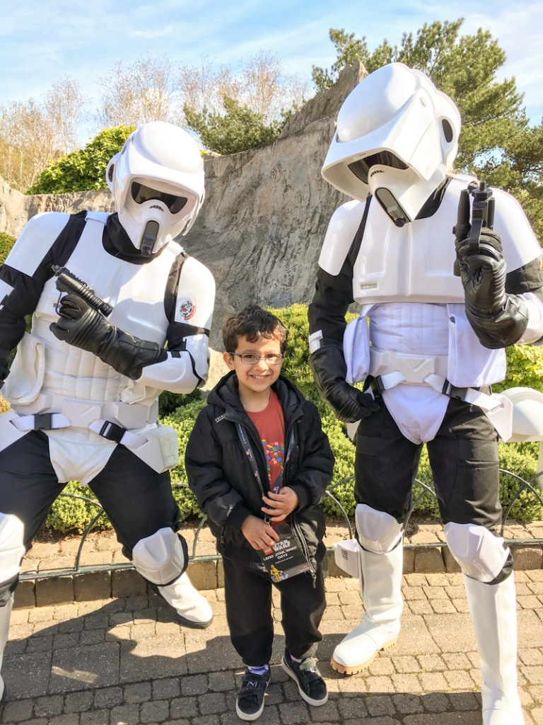 legoland windsor star wars day