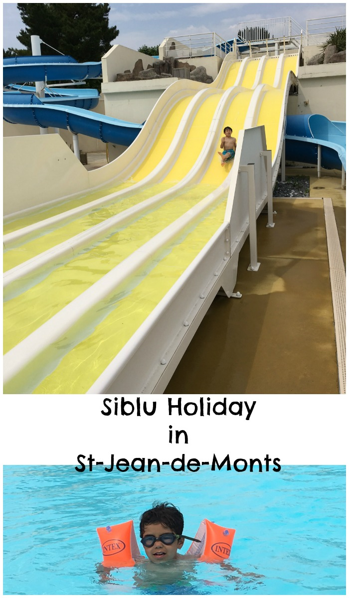 family holiday at Le Bois Dormant, siblu campsite in St Jean de Monts Vendee France