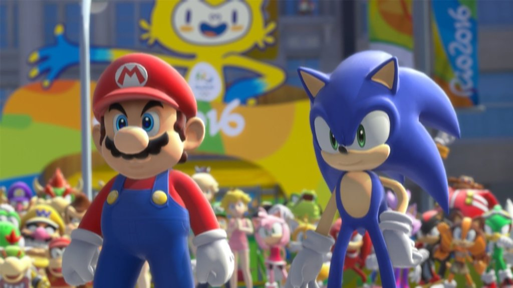 Mario & Sonic at the rio 2016 olympic games screenshot