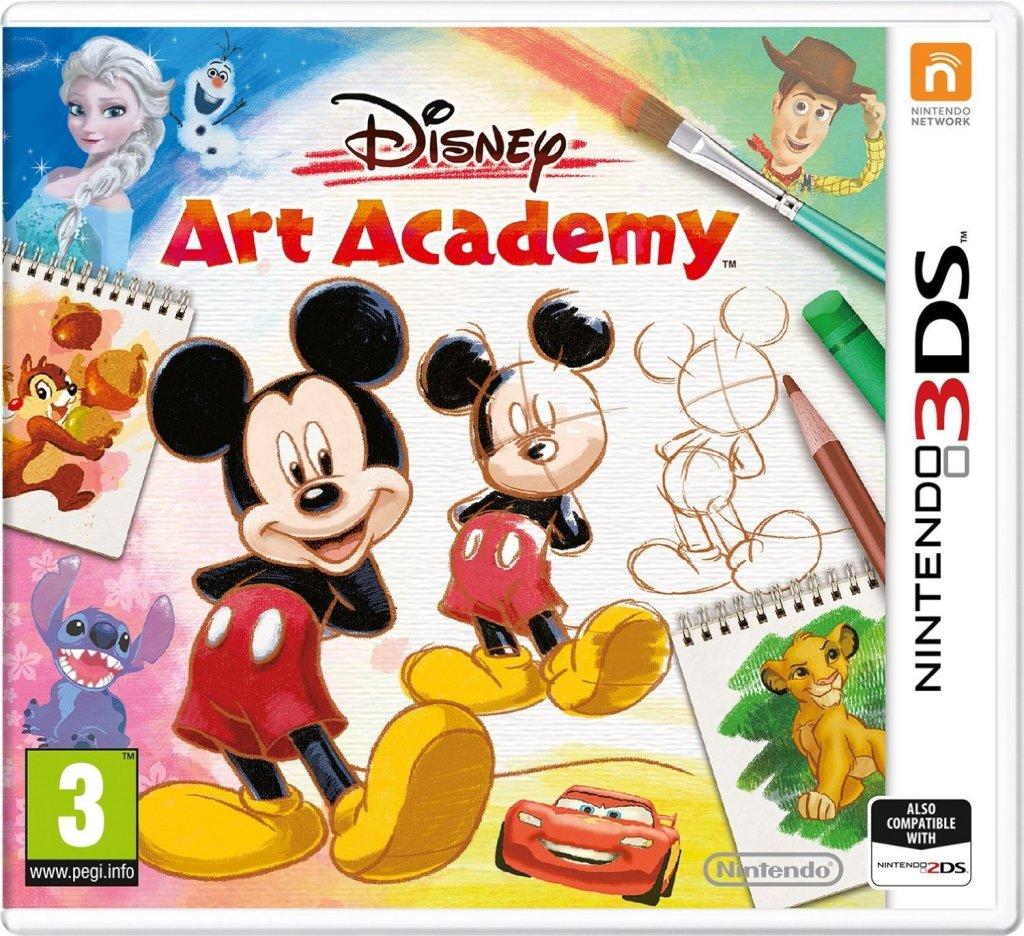 disney art academy nintendo ds