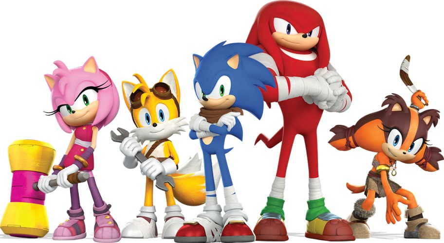 sonic boom fire and ice characters