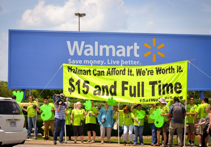 The Union Behind the Biggest Campaign Against Walmart in History May