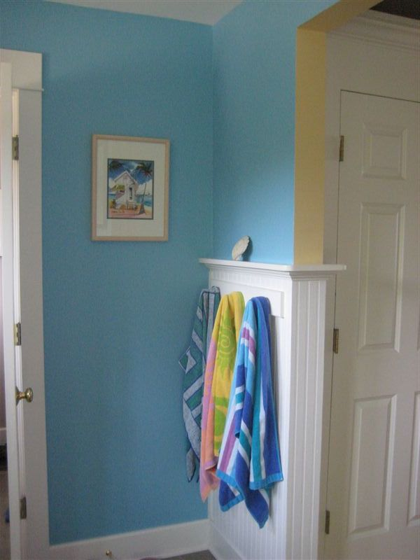 second wall color, seaside blue Krista boysu0027 room Pinterest
