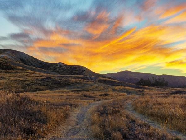 Sunrise From Vasquez Canyon Road