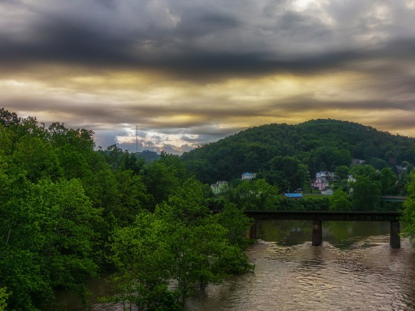 Morning, Grafton, West Virginia
