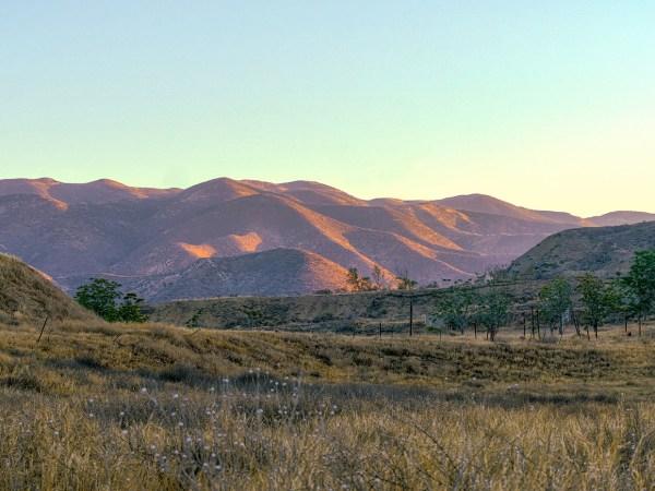 Vasquez Canyon Road Views