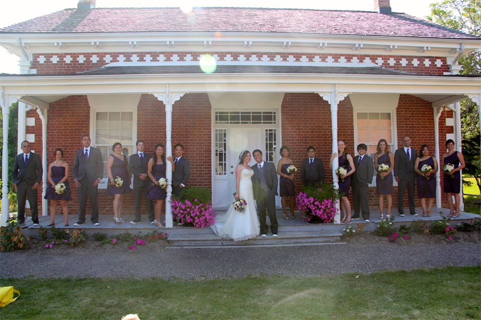 Farmhouse Porch Intimate Wedding Venues Near Toronto, Ontario - The