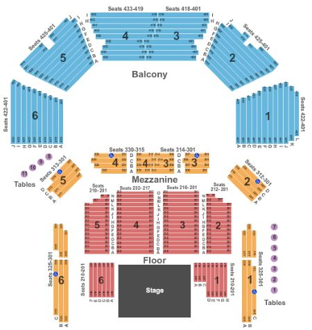 Acl Moody Theater Seating Chart Awesome Home