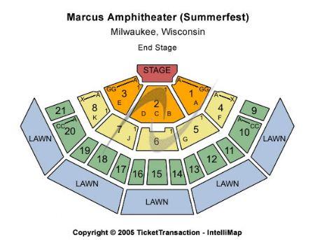 marcus amphitheater seating chart - Heartimpulsar