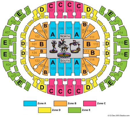 AmericanAirlines Arena Tickets and AmericanAirlines Arena Seating