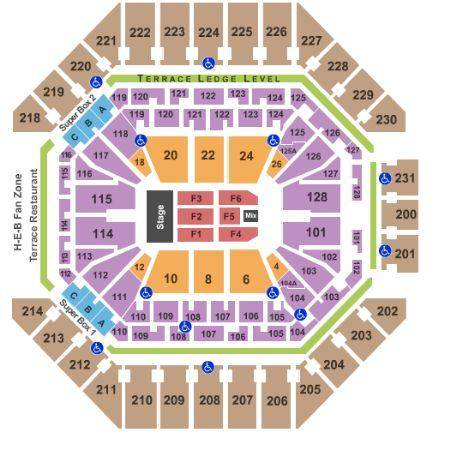 ATT Center Tickets and ATT Center Seating Chart - Buy ATT Center