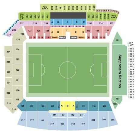 Banc of California Stadium Tickets and Banc of California Stadium
