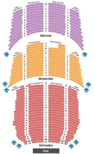 Luxury Count Basie Seating Chart luxury memorial auditorium seating