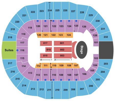 Garth Brooks Cajundome Seating Chart Awesome Home