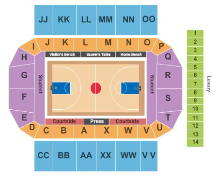 Conte Forum Tickets and Conte Forum Seating Chart - Buy Conte Forum