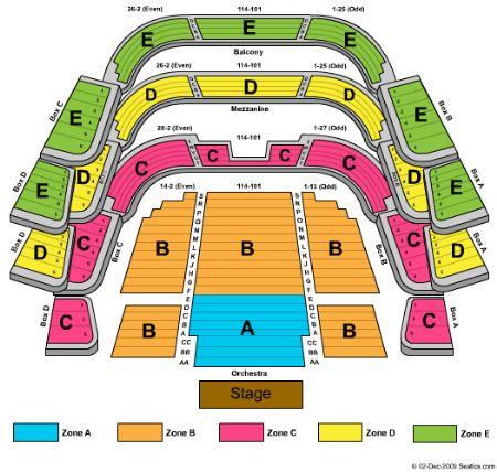 Straz Seating Chart Elcho Table