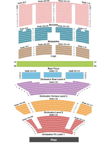 Fox Theater Tickets and Fox Theater Seating Chart - Buy Fox Theater